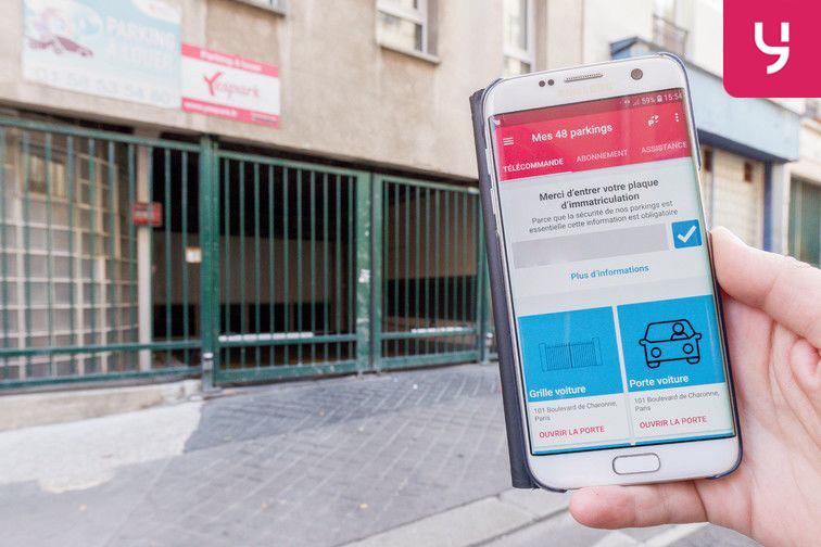 location parking La Bellevilloise - Paris 20 (place moto)