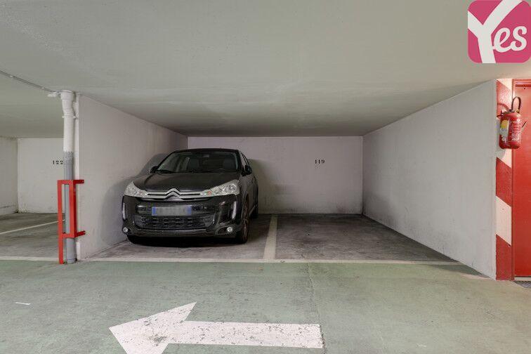 Parking Regard Saint-Martin - Paris 20 caméra
