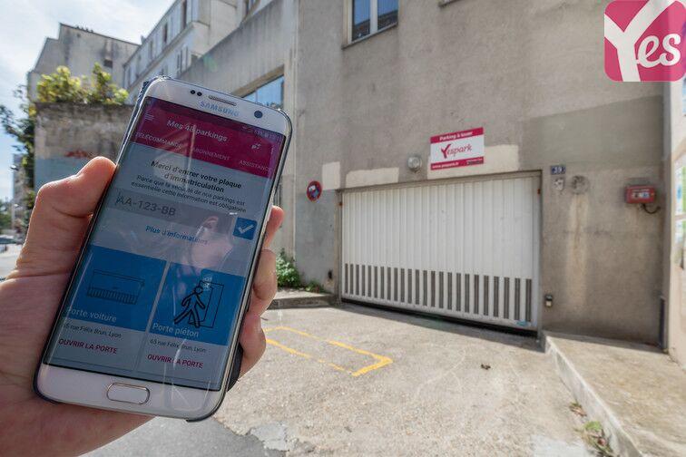 location parking Regard Saint-Martin - Paris 20
