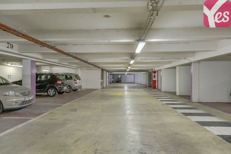 Parking Ancienne gare de Reuilly - Paris 12 caméra