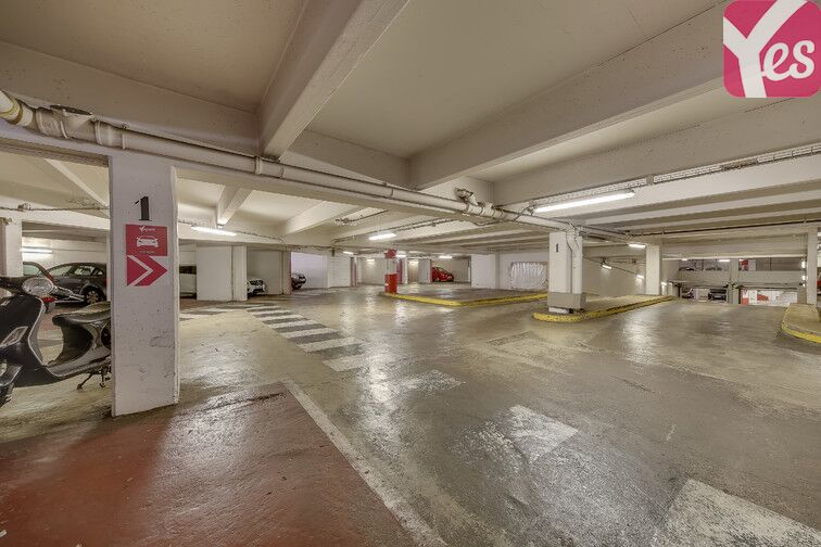 Parking Ancienne gare de Reuilly - Paris 12 souterrain