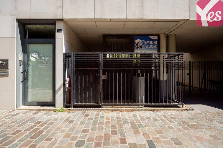 Parking Parc de Bercy - Paris 12 gardien