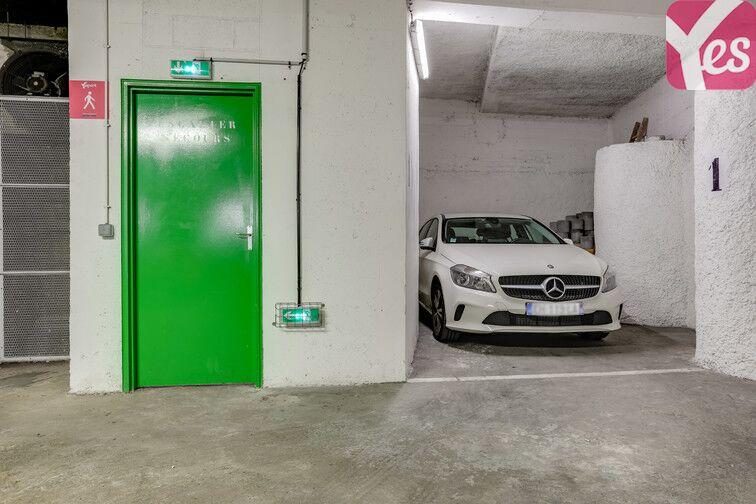 Parking Hôpital Léopold Bellan - Paris 14 souterrain