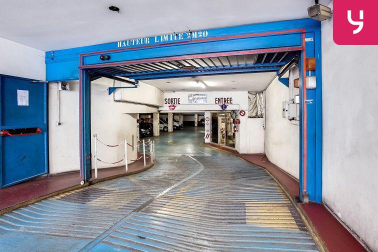 Parking Lamarck - Caulaincourt souterrain