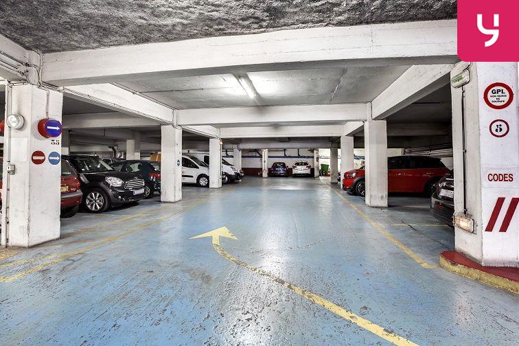 Parking Lamarck - Caulaincourt sécurisé