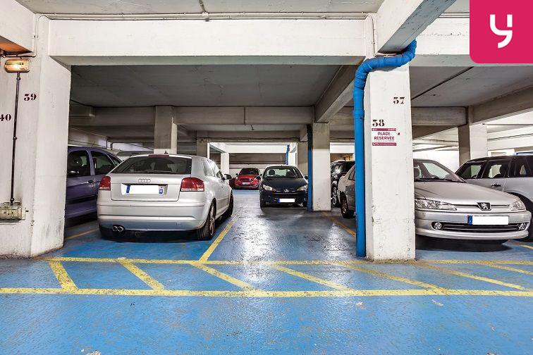 Parking Lamarck - Caulaincourt gardien