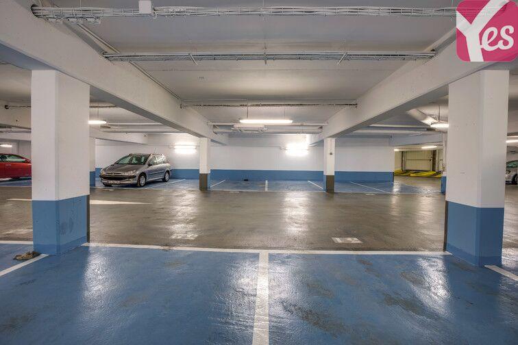 Parking Parc André Citroën - Paris 15 caméra