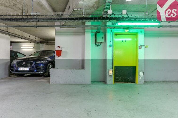 Parking Félix Faure - Paris 15 caméra