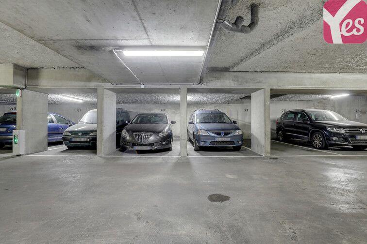Parking Goncourt / Hôpital St Louis - Paris 10 caméra