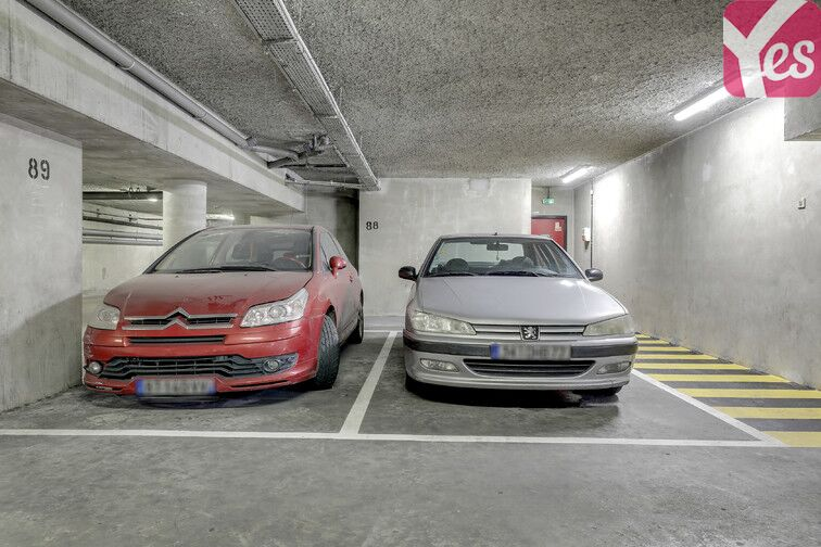 Parking Goncourt / Hôpital St Louis - Paris 10 box