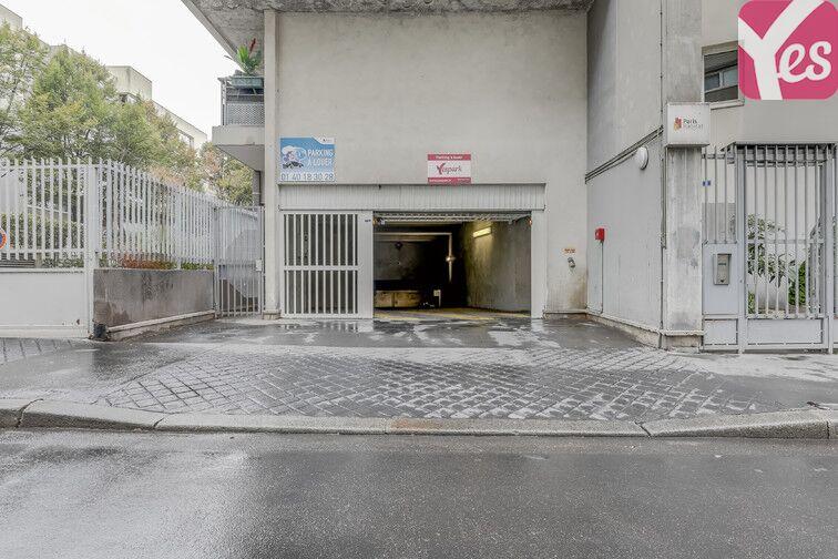 Parking Goncourt / Hôpital St Louis - Paris 10 garage