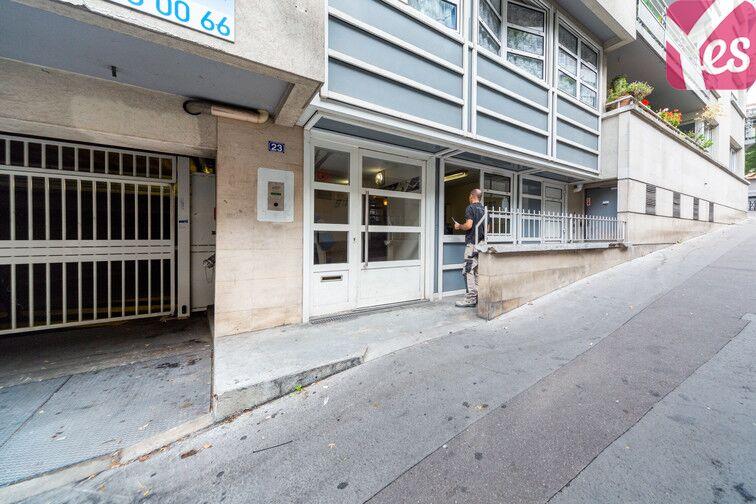 Parking Cité Rouge - Paris 10 souterrain