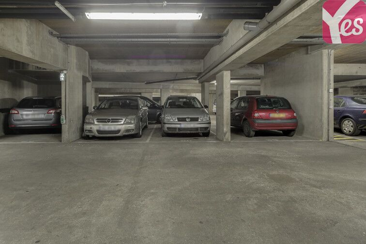 Parking Cité Rouge - Paris 10 caméra