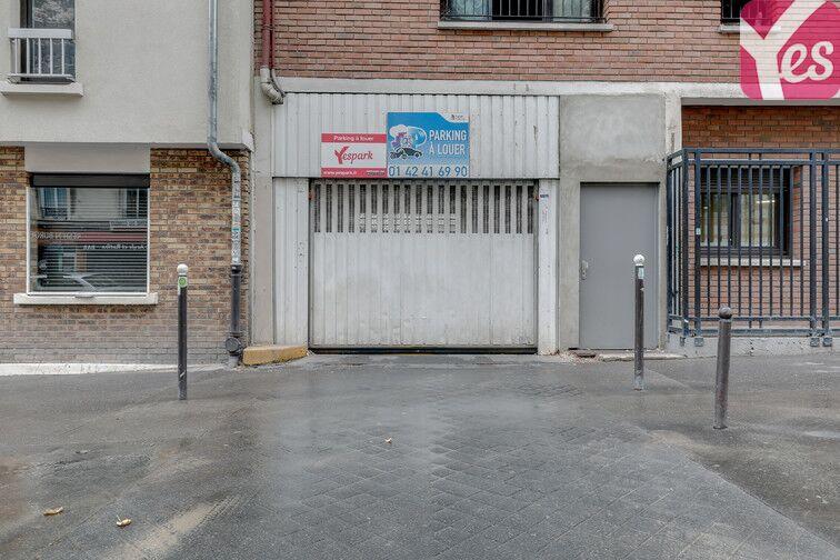 Parking Grange aux Belles - Paris 10 gardien