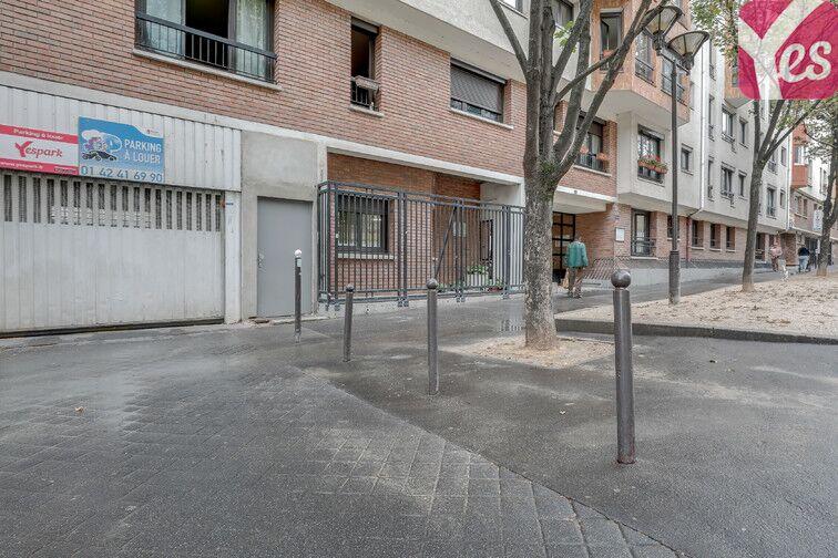Parking Grange aux Belles - Paris 10 sécurisé