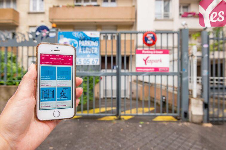 location parking Sambre et Meuse - Paris 10