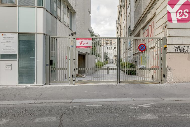 Parking Boulevard de Charonne - Paris 11 location