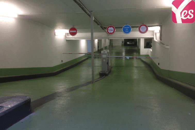 Parking Mairie de Courbevoie sécurisé