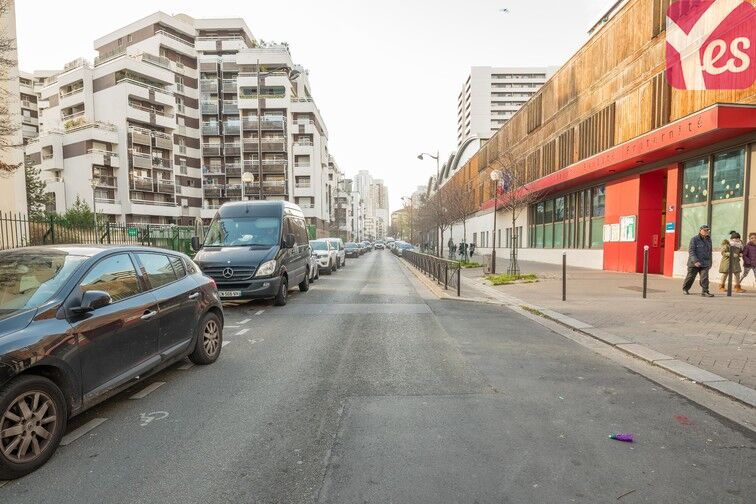 Parking Quai de la Gironde - Paris 19 en location