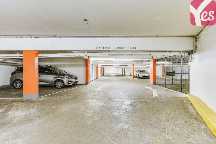 Parking Mairie du XIXème - Paris caméra