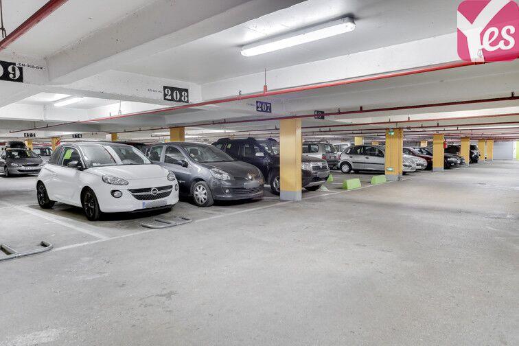 Parking Bibliothèque Place des Fêtes - Paris 19 sécurisé