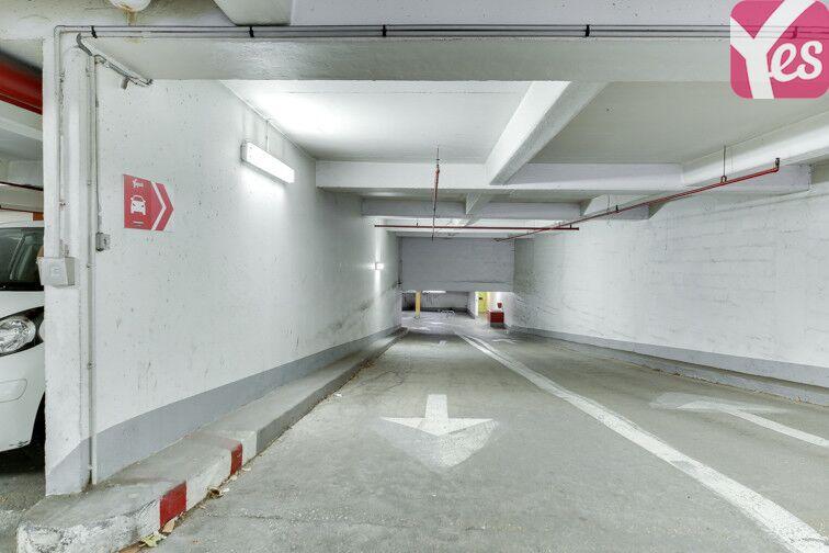 Parking Bibliothèque Place des Fêtes - Paris 19 souterrain