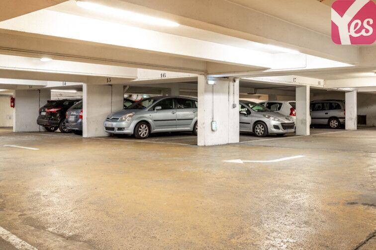 Parking Hôpital Robert Debré - Paris 19 caméra