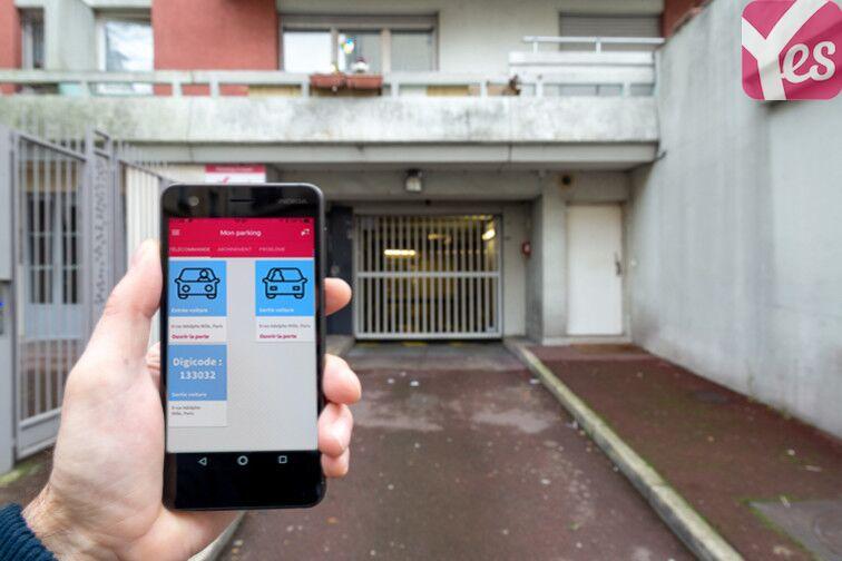 Parking Hôpital Robert Debré - Paris 19 box