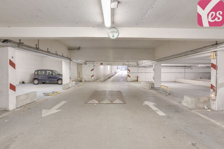 Parking Square Monseigneur Maillet - Paris 19 gardien