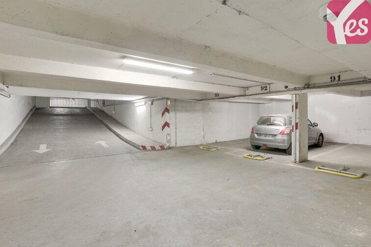 Parking Square Monseigneur Maillet - Paris 19 sécurisé