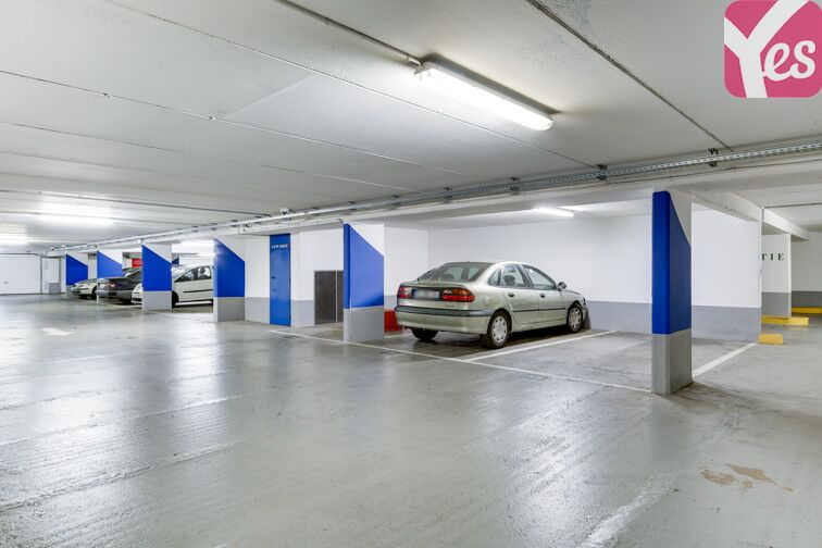 Parking Butte Bergeyre - Paris 19 souterrain