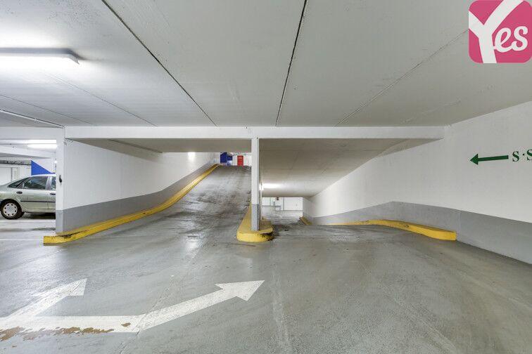 Parking Butte Bergeyre - Paris 19 location mensuelle