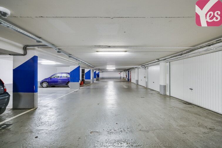 Parking Butte Bergeyre - Paris 19 gardien