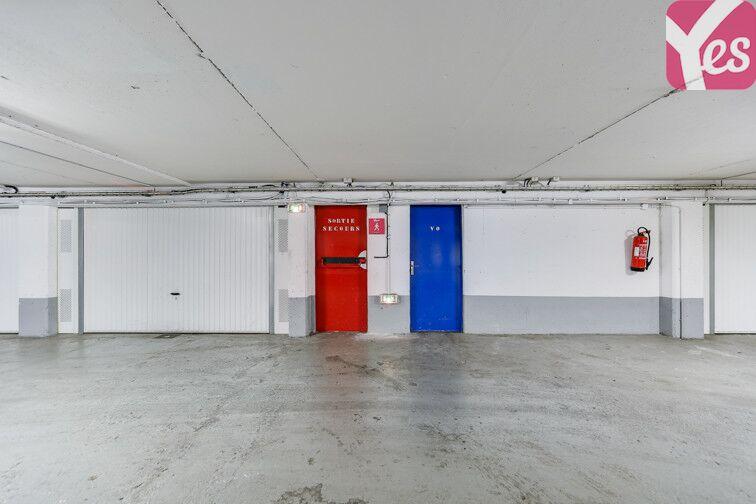 Parking Butte Bergeyre - Paris 19 caméra