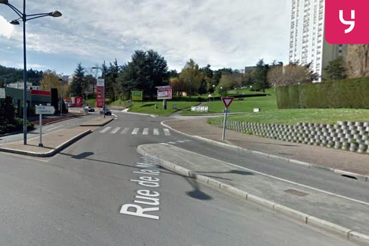 Location parking Châteaucreux - Saint-François - Monthieu - Saint-Etienne