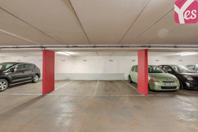 Parking Buttes Chaumont - Rue Rebeval - Paris 19 sécurisé
