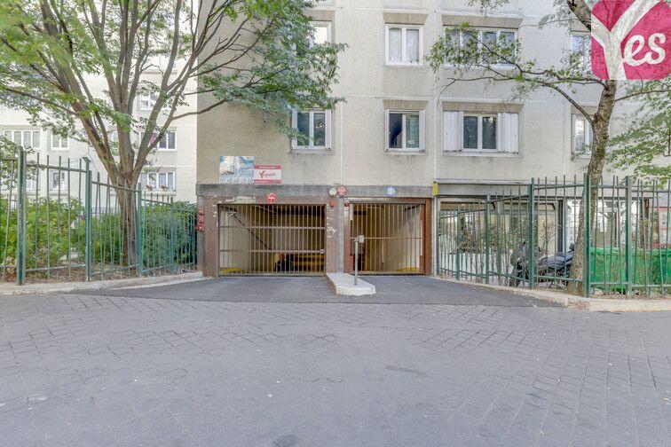 Parking Buttes Chaumont - Rue Rebeval - Paris 19 gardien