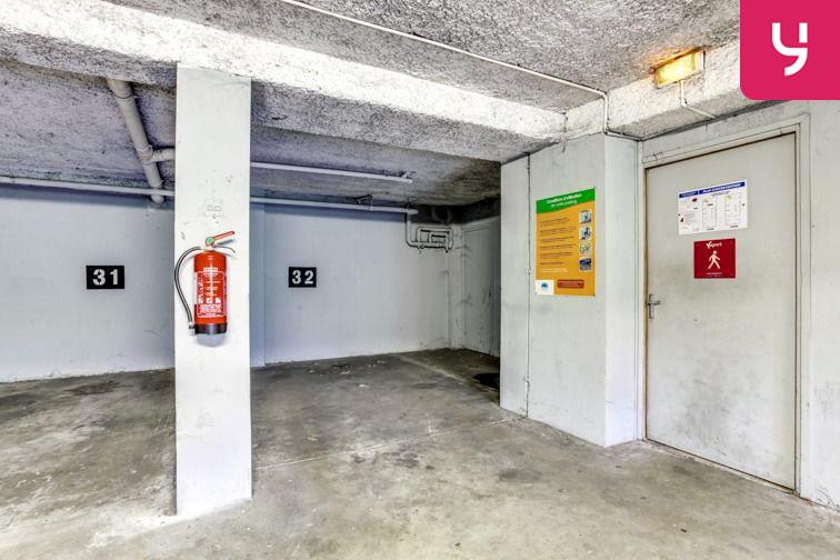 Parking Saint Clair (place moto) location