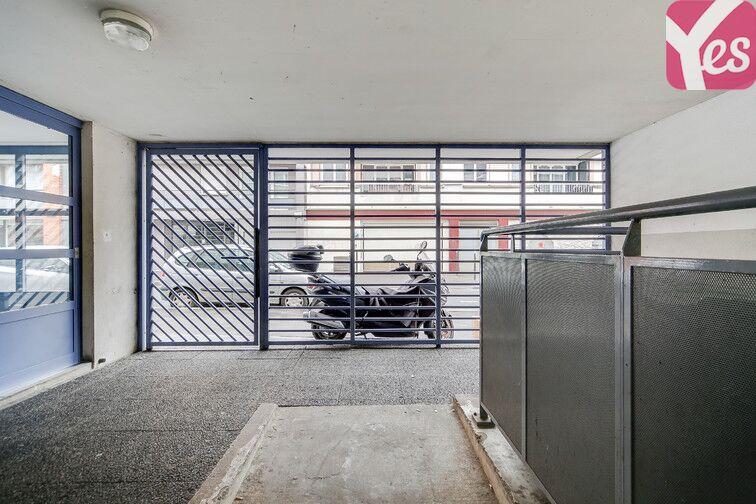 Parking Jardin du Chalet - Paris 10 caméra
