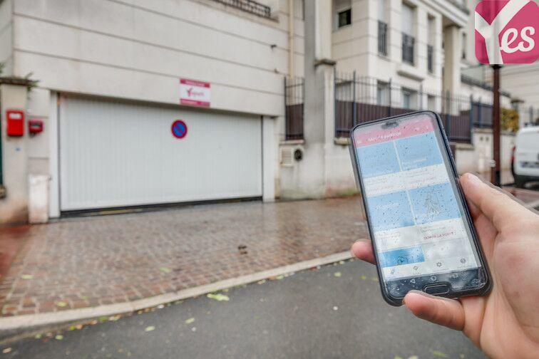 La télécommande numérique sur l'application Yespark vous permet d'accéder au parking