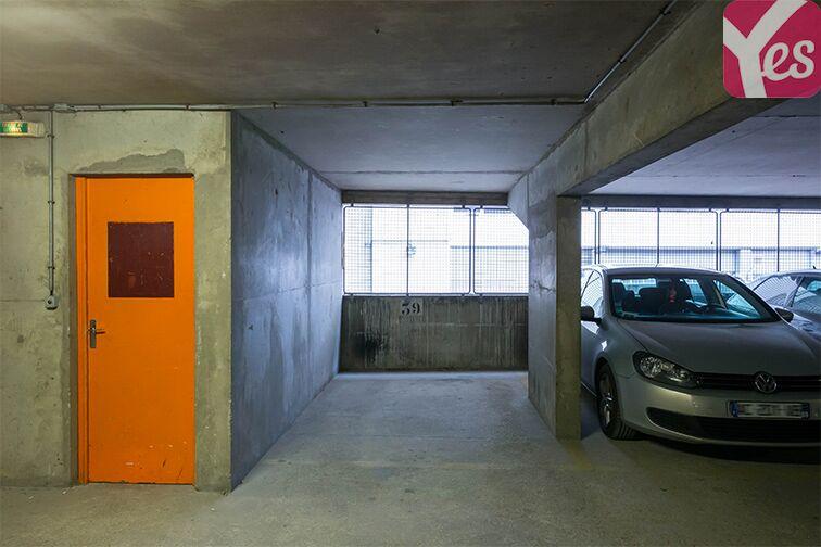 Parking Porte d'Orléans gardien