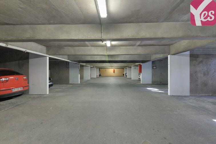 Parking Médiathèque Alexandre Jardin - Asnières-sur-Seine sécurisé