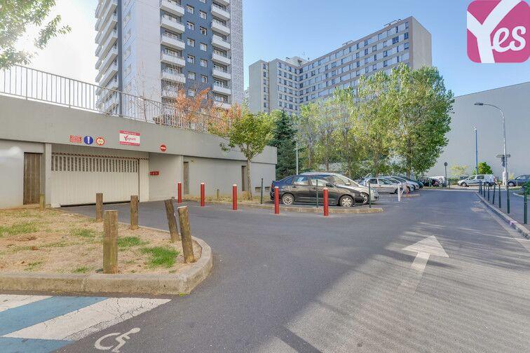Parking Médiathèque Alexandre Jardin - Asnières-sur-Seine souterrain
