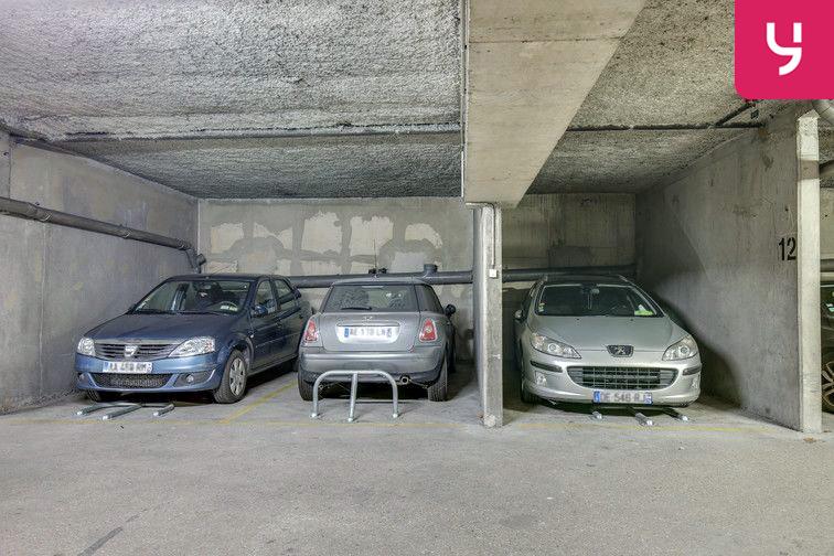 Parking Pernety - Paris 14 (place moto) caméra