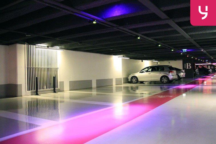 Parking Étienne Marcel - Les Halles pas cher