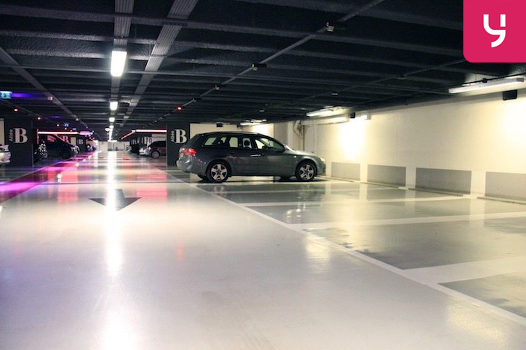 location parking Étienne Marcel - Les Halles