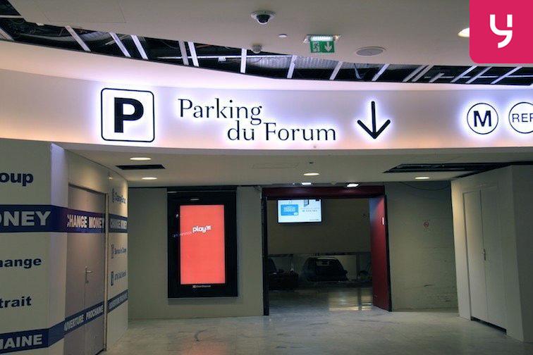 Parking Étienne Marcel - Les Halles caméra
