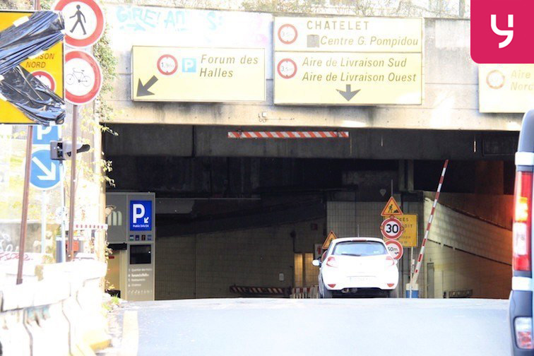 Parking Étienne Marcel - Les Halles box