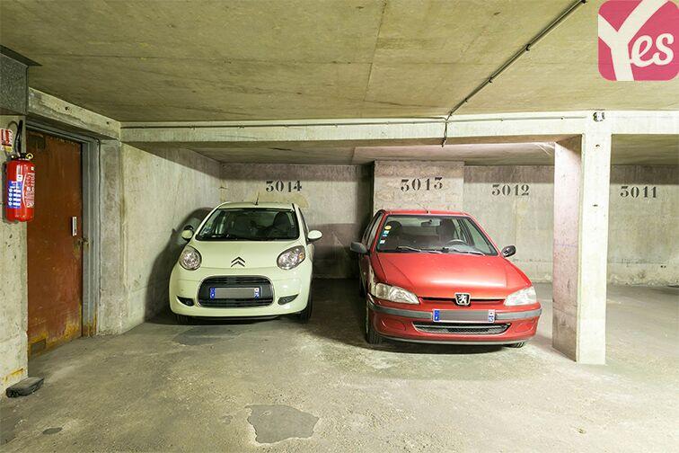 Parking Quai d'Asnières-sur-Seine - Villeneuve-la-Garenne caméra