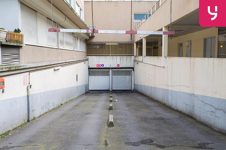 Parking Gare Vaugirard - Paris 15 (place moto) 127 rue Falguière